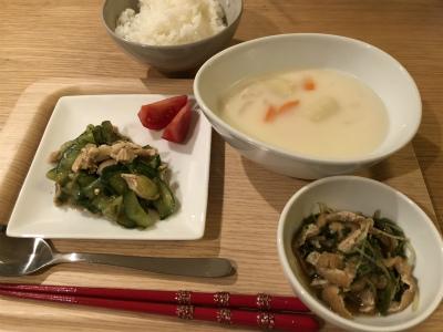 水菜とシチュー.jpg